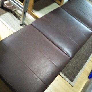 ソファー 長椅子 茶色 ブラウン ④