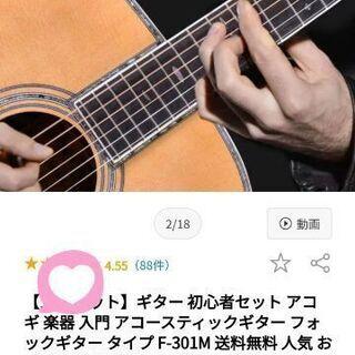 ギター 初心者 アコギ 楽器 入門 アコースティックギター フォ...