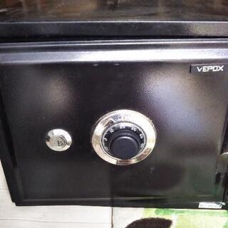 耐火金庫 VEPOX 金庫 ダイヤル式 鍵付き