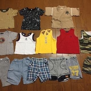 男の子80-90夏用
