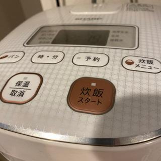 SHARP3合炊 炊飯器 2000円