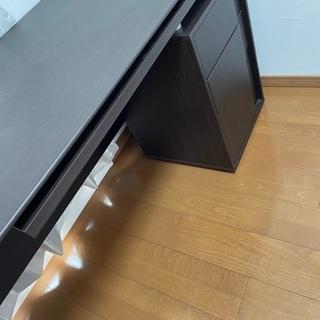 【ネット決済】システムデスク キャネーラ 140 DBR  ワー...