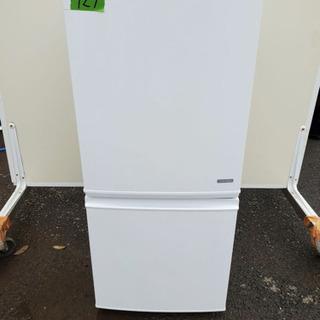 927番シャープ✨ノンフロン冷凍冷蔵庫✨SJ-C14A-W‼️
