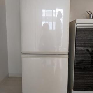 【ネット決済】SHARP2ドア 冷蔵庫 まだまだ使えます!