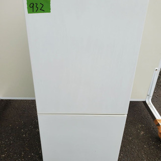 932番 U-ING✨電気冷蔵庫RMJ-11A‼️