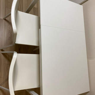 IKEA 伸長式テーブル+椅子2脚 VANGSTA TEODORES