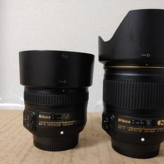 AF-S ニッコール 28mm f/1.8Gと50mm f…