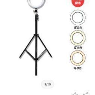 調光LEDリングライト 20cm USB給電 LEDリングライト...