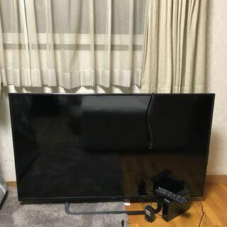 2019年製液晶テレビ Quriom 49インチTV 50…