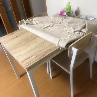 ダイニングテーブル + 椅子4本