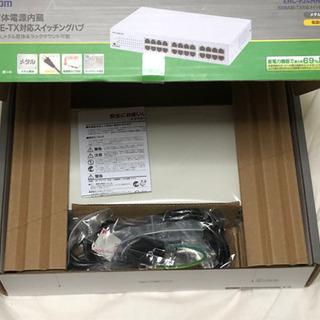 【未使用品、美品】ELECOM スイッチングハブ