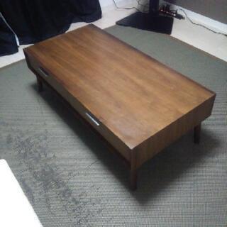 ローテーブル ウォールナット