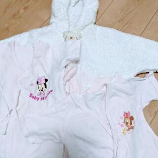 新生児服8枚 女の子 ベビーバスローブ