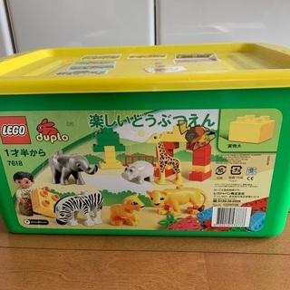 LEGOブロック 楽しい動物園 1才半から
