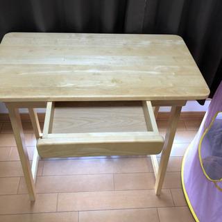 木製テーブル 折りたたみチェアセット