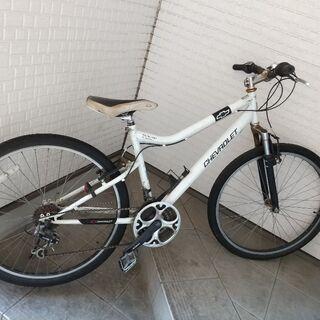 シボレー自転車【クロスバイク】変速付き