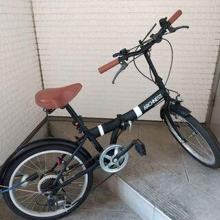 折り畳み自転車【使用ほぼ無し】20インチ