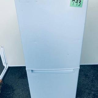 ①✨2019年製✨793番 ニトリ✨2ドア冷蔵庫 グラシア…