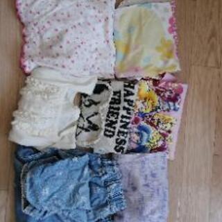 110 女の子 夏服セット パジャマ