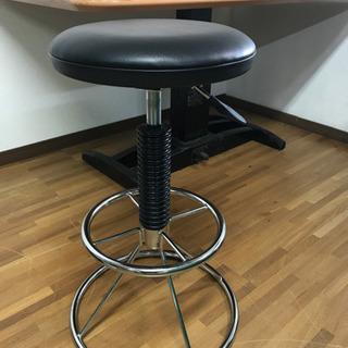 油圧式 椅子 美品