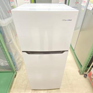 '20 Hisense 2ドア冷蔵庫 120L ホワイト …