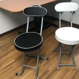 パイプ椅子 折りたたみ式椅子 美品