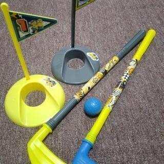 ミニオンのおもちゃ(ゴルフセット