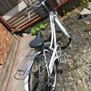 自転車★26インチ★白
