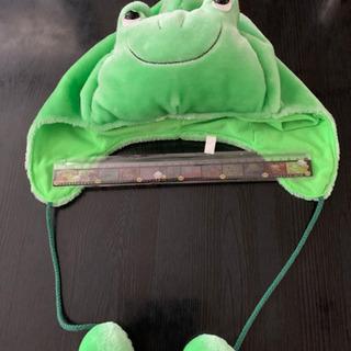 カエルのかぶりもの 帽子