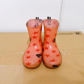 【ネット決済】ミキハウス ダブルビー 長靴