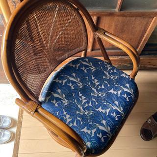 籐椅子の画像