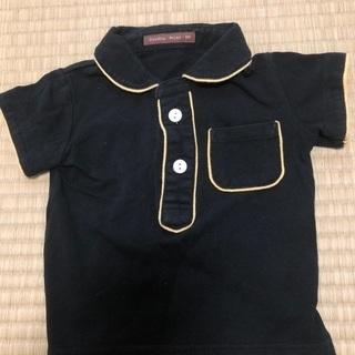 studio mini 半袖 ポロシャツ 黒 80サイズ