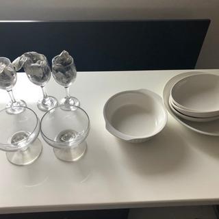 お皿 グラス