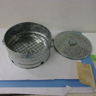 JM11181)焼き芋機 ストーブの上でご使用になれます 土井金属化成(株) 中古品 - 生活雑貨