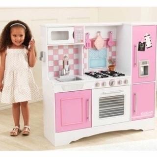 【ネット決済】木製おままごとキッチン&木製おもちゃ
