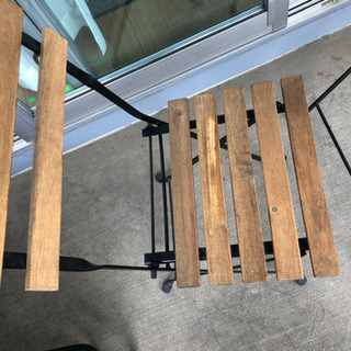 IKEA テルノーガーデンテーブル+チェア2脚 − 愛知県