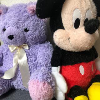 テディベア&ミッキーマウス