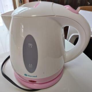 中古 電気ポット * 白とピンク