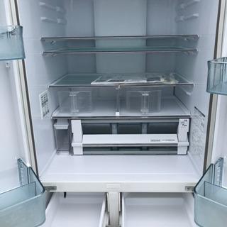 ☆値引き☆【名古屋市郊外配送可能】HITACHI 6ドア冷蔵庫 R-HW52J 2018年製 - 家電