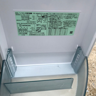 ☆値引き☆【名古屋市郊外配送可能】HITACHI 6ドア冷蔵庫 R-HW52J 2018年製 - 売ります・あげます