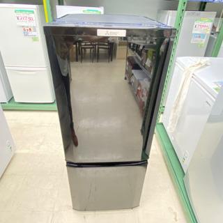 '19 三菱 2ドア冷蔵庫 ブラック 146L MR-P1…