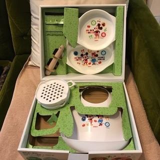 美品 ピジョン 調理&ベビー食器セット 離乳食作り
