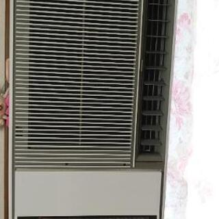 SHARP窓用ルームエアコン暖房除湿機能付き
