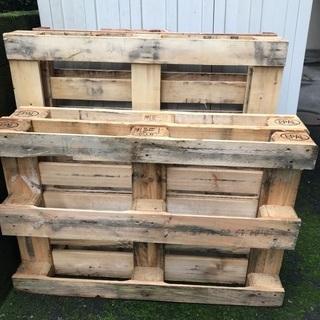 木製パレット4枚