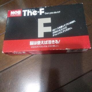 The-F  ザ、エフ   シルエットパズル  used