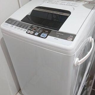 日立 洗濯機 7㎏  白い約束 NW-7MY