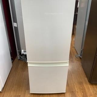 6ヶ月保証有り!2ドア冷蔵庫 SHARP
