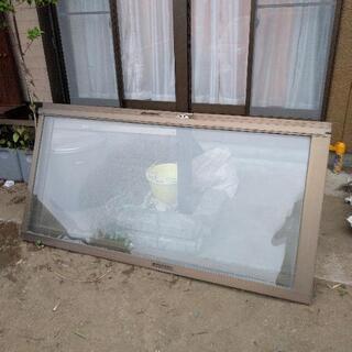 アルミサッシ 掃き出し窓用 網戸付き 計4枚