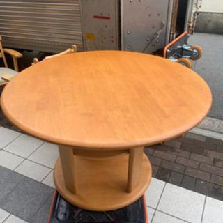 丸テーブル ニトリダイニングテーブル
