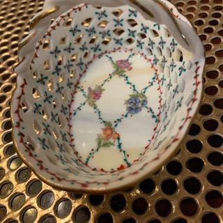 可愛い 陶器の小物入れ